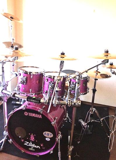 Yamaha Art Nouveau Drums